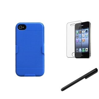 INSTEN Holster/ Protector/ Stylus for Apple iPhone 4/ 4S