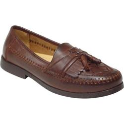 Men's Deer Stags Herman Dark Maple Leather/Synthetic Moccasins