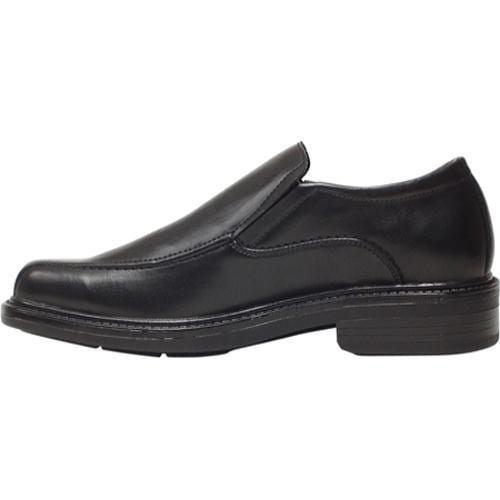 Men's Deer Stags Torino Black Smooth Leather - Thumbnail 2