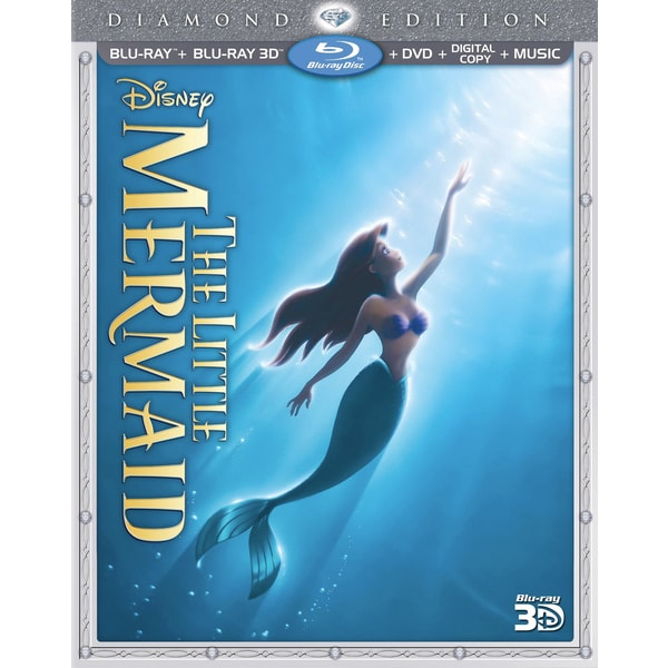 The Little Mermaid 3D (Diamond Edition) (Blu-ray/DVD)