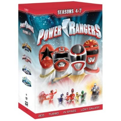 Power Rangers: Seasons 4-7 (DVD)