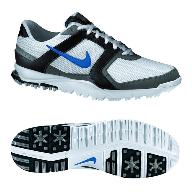 Blue/ Black WP Golf Shoes - Overstock