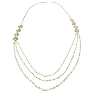 Michael Valitutti Gold over Silver FW Coin Pearl Necklace (3-4 mm)|https://ak1.ostkcdn.com/images/products/7949510/7949510/Michael-Valitutti-Gold-over-Silver-FW-Coin-Pearl-Necklace-3-4-mm-P15322982.jpg?impolicy=medium