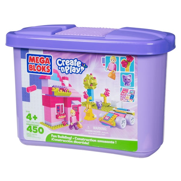 Mega Bloks Create 'n Play Fun Building Girl