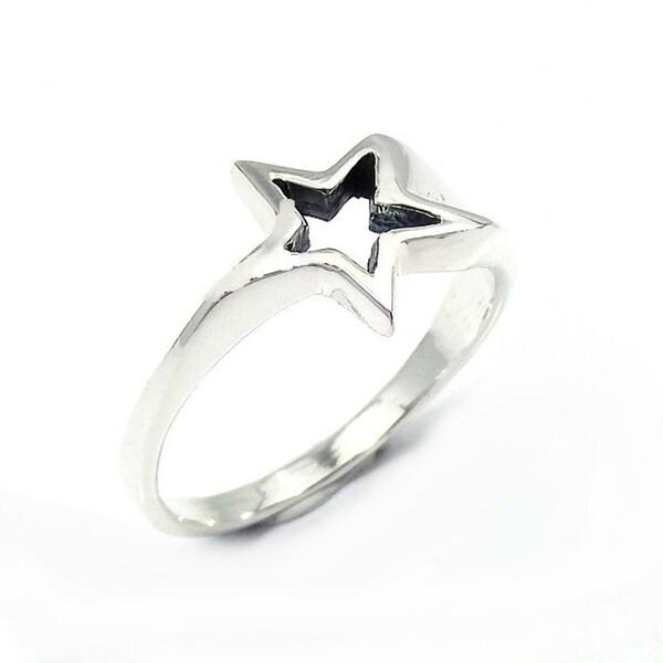 Handmade Sterling Silver Dazzling Shooting Star Ring (Thailand)