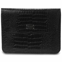Morelle & Co Ryan Genuine Split Crocodile Leather iPad Holder with Flap