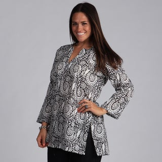 Black and White Tunic (India)