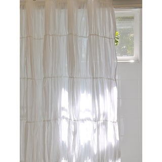 Rogue White 96-inch Curtain Panel