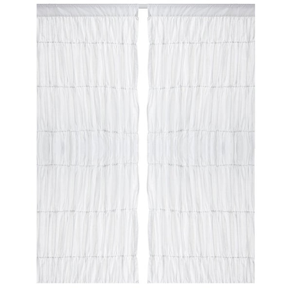 96 Inch White Panel Curtains - Best Curtains 2017