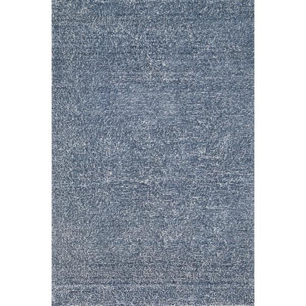 Hand-tufted Elle Denim Shag Rug (7'6 x 9'6)