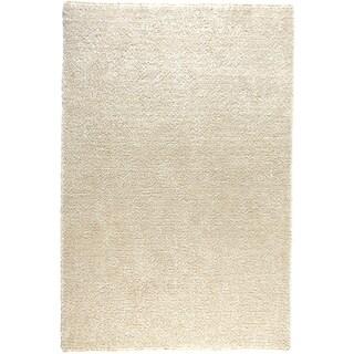 Hand-tufted Elle Ivory Shag Rug (3'6 x 5'6)
