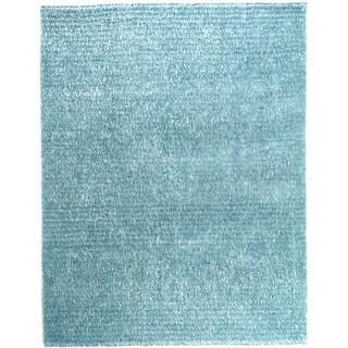 Hand-tufted Elle Ocean Shag Rug (5'0 x 7'6)