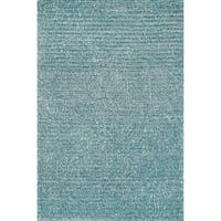 "Hand-tufted Elle Ocean Shag Rug (7'6 x 9'6) - 7'6"" x 9'6"""