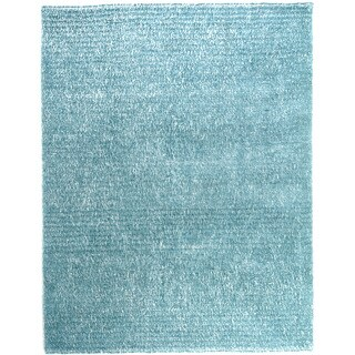 Hand-tufted Elle Ocean Shag Rug (9'3 x 13)