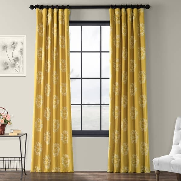 dijon mustard colored curtains for