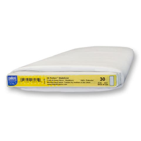Pellon 30 Lightweight Non-Woven Sew-In Stabilizer (20-inch x 10yd)
