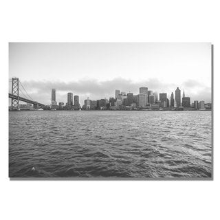 Ariane Moshayedi 'Downtown' Canvas Art