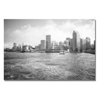 Ariane Moshayedi 'City on the Water II' Canvas Art