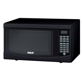Curtis RCA Glossy Black 700-watt Microwave Oven