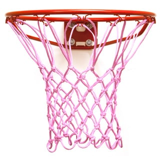 Shop Krazy Netz Pink Basketball Net Free Shipping On