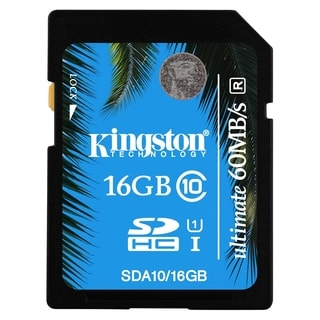 Kingston Ultimate 16 GB SDHC