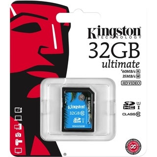 Kingston Ultimate 32 GB SDHC