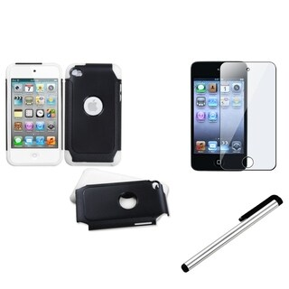 INSTEN iPod Case Cover/ LCD Protector/ Stylus for Apple iPod Touch 4th Generation