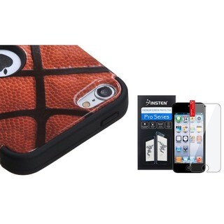 Insten Basketball iPod Case Cover/ Clear Screen Protector for Apple iPod Touch 5th/ 6th Generation