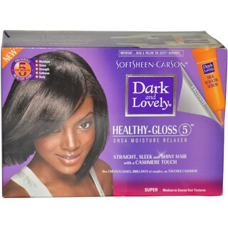 Dark and Lovely Healthy Gloss 5 Shea Moisture Relaxer Kit