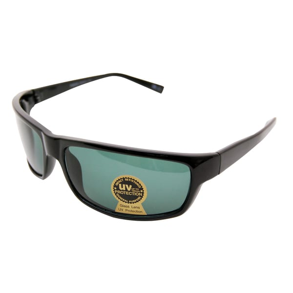 ed08f4bd983b Shop Men's Black Mineral Casual Sunglasses - Free Shipping On Orders Over  $45 - Overstock - 7951615
