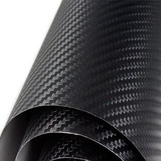 Self-Adhesive 24x48-inch 3D Carbon Fiber Vinyl Sheet