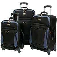 Geoffrey Beene Brentwood Collection 3-Piece Spinner Luggage Set