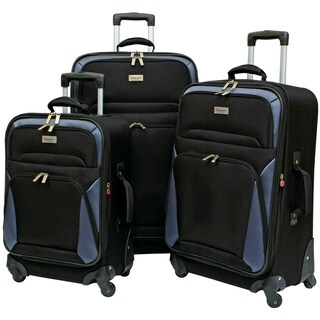 Geoffrey Beene Brentwood Collection 3-Piece Spinner Luggage Set