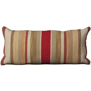 Mina Victory Nourmak Stripe Multicolor Throw Pillow (14-inch x 30-inch) by Nourison