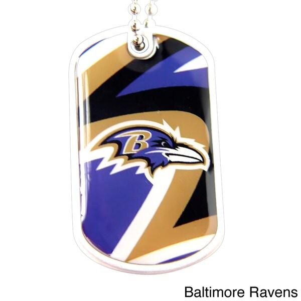 NFL Chain Dynamic Dog Tag Charm Necklace