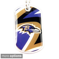 NFL Chain Dynamic Dog Tag Charm Necklace