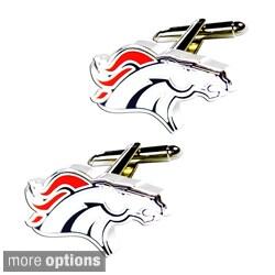 NFL 3/4-inch Cut-cut Cufflinks Design Gift Box Set