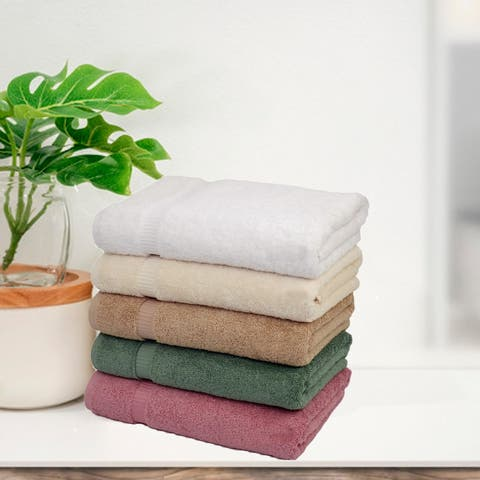 Royal Turkish Cotton Towel Soft and Luxury 700 GSM Bath Towels Set of 4