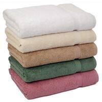 Royal Turkish Towel Luxury 700 GSM Turkish Cotton Bath Towel (set of 4)