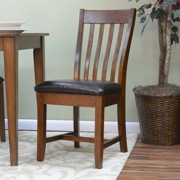 Henry Upholstered Mission Dining Chair