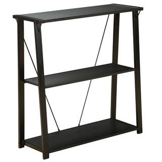 Orion Black Three-shelf Metal Bookcase|https://ak1.ostkcdn.com/images/products/7951733/7951733/Orion-Black-Three-shelf-Metal-Bookcase-P15324770.jpg?impolicy=medium