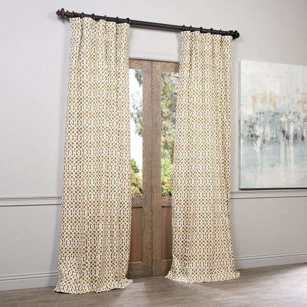 Exclusive Fabrics Nairobi Desert Printed Cotton Curtain