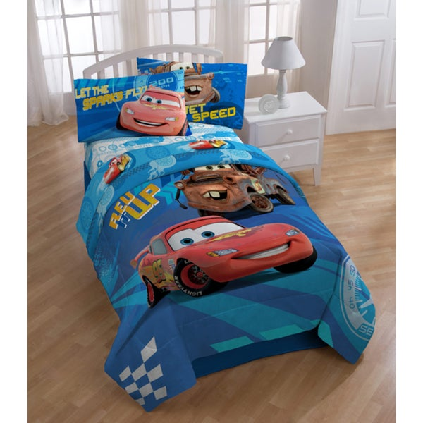 Cars City 5-piece Bed in a Bag with Sheet Set