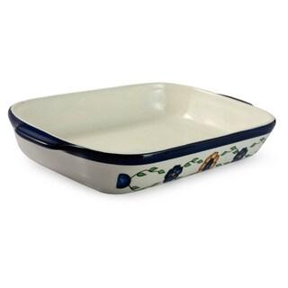 Handmade Ceramic 'Margarita' Rectangular Serving Dish (Guatemala)