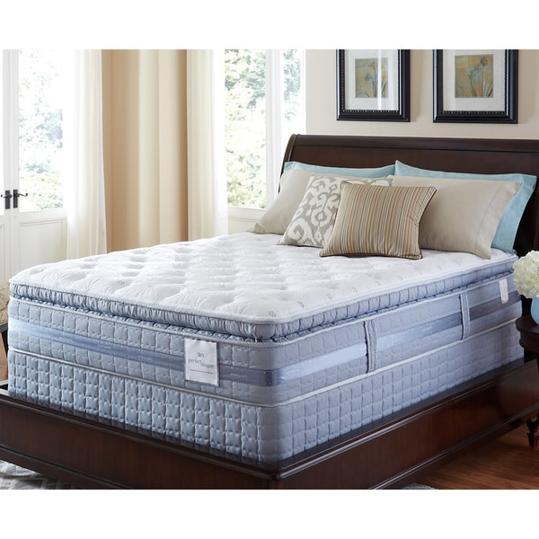 Serta Perfect Sleeper Elite Pleasant Night Super Pillowtop Split Queen-size Mattress Set