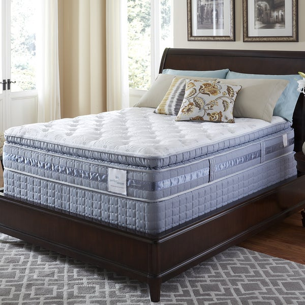 Serta Perfect Sleeper Resolution Super Pillowtop Twin-size Mattress Set