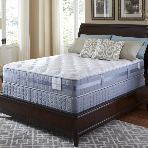Serta Perfect Sleeper Resolution Plush Split Queen-size Mattress and Foundation Set