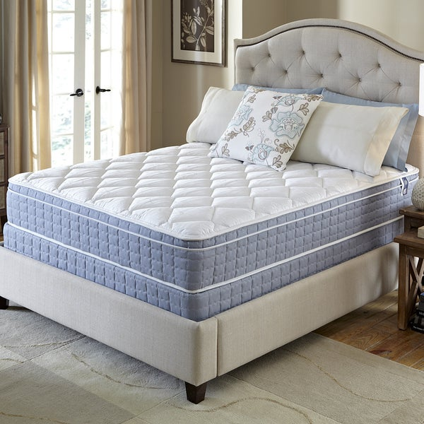 Serta Revival Euro Top Queen-size Mattress and Foundation Set