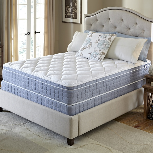 Serta Revival Euro Top King-size Mattress and Foundation Set