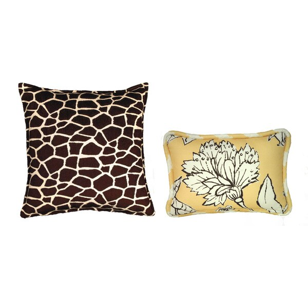 Reversible Coute Couture Shelton Decorative Pillows (Set of 2)